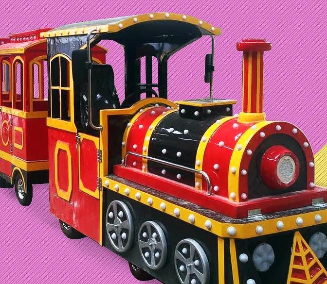 商场仿古无轨小火车,儿童室内外游乐设备,郑州奇美游乐