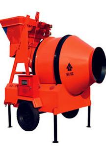 滚筒式混凝土搅拌机JS350