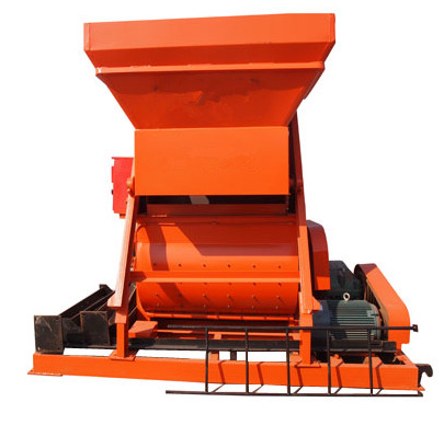 双卧轴强制式混凝土搅拌机JS750