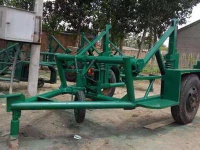 放线拖车直销-性能可靠的放线拖车当选雷豹电力机具
