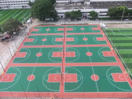篮球场地施工公司|沈阳篮球场地专业施工兴盛隆体育专业供应