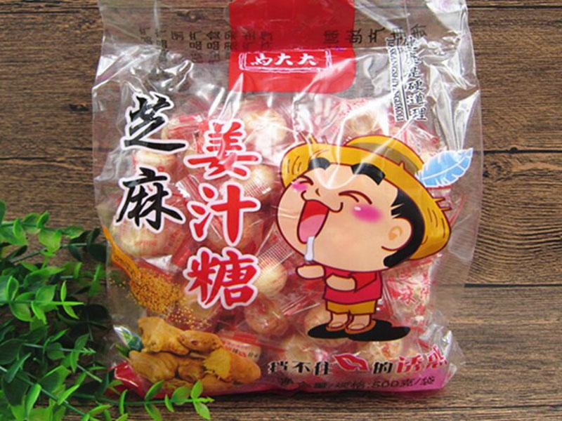 长期供应春光牌糖姜片,宁夏姜糖片直销