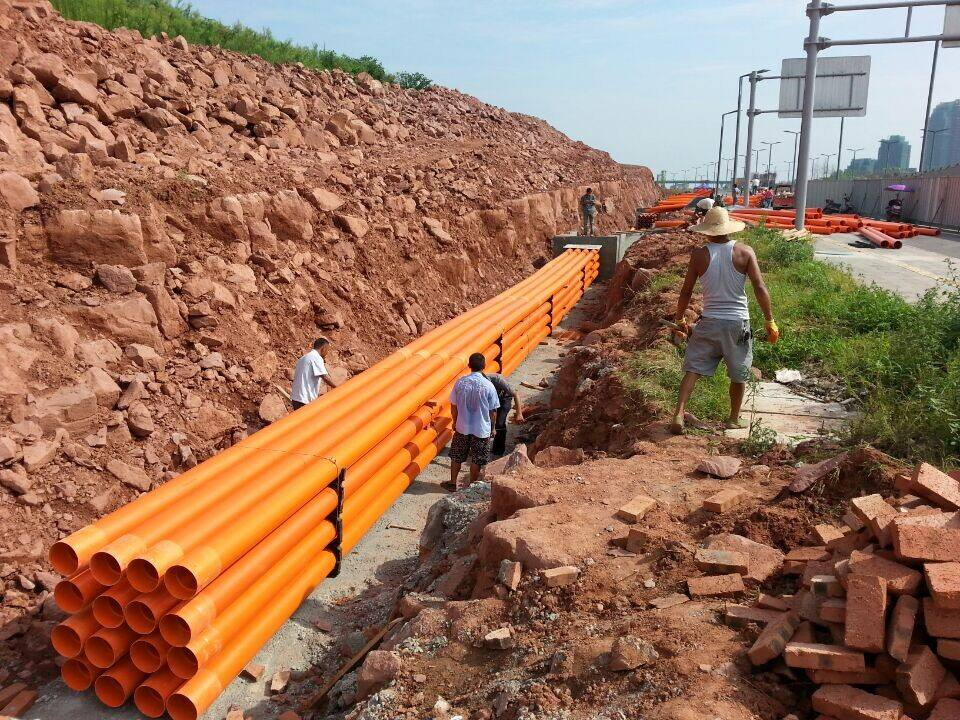 HDPE钢带增强螺旋波纹管_湖南地区专业的PVC-C电力管
