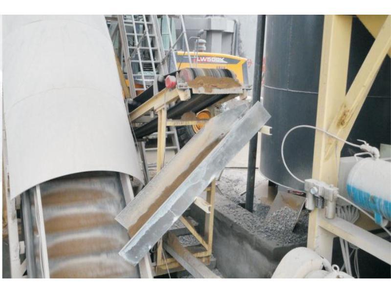 槽型回料系統