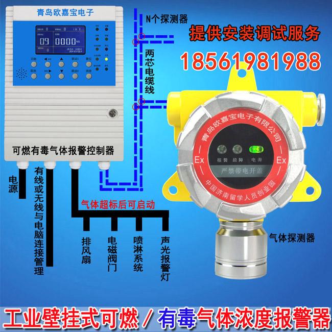 青岛二甲苯报警器 欧嘉宝电子科技的可燃气体报警器怎么样