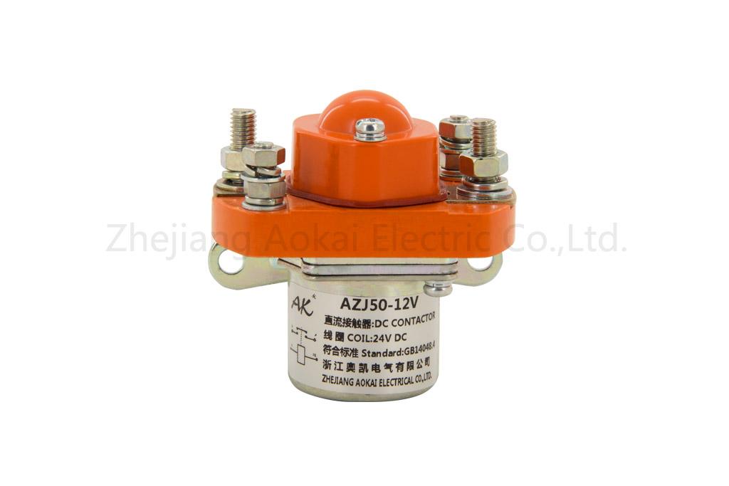 AZJ50-24V直流接触器|AZJ系列直流接触器供应商哪家好