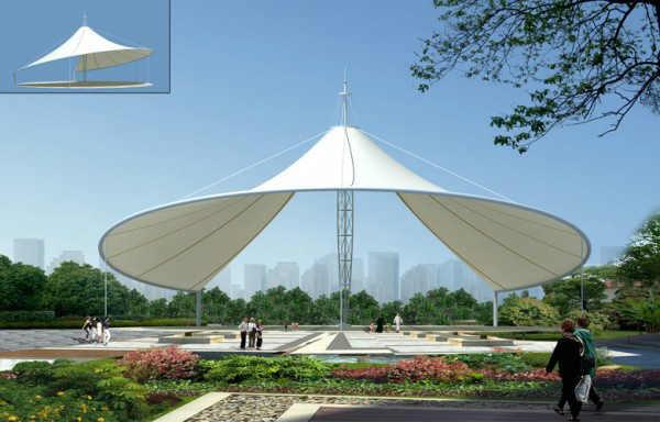 新疆景觀膜結構