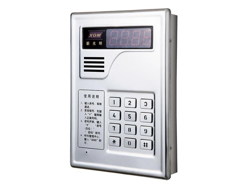 門禁報價-廣東實惠的大樓編碼型非可視門口主機供銷