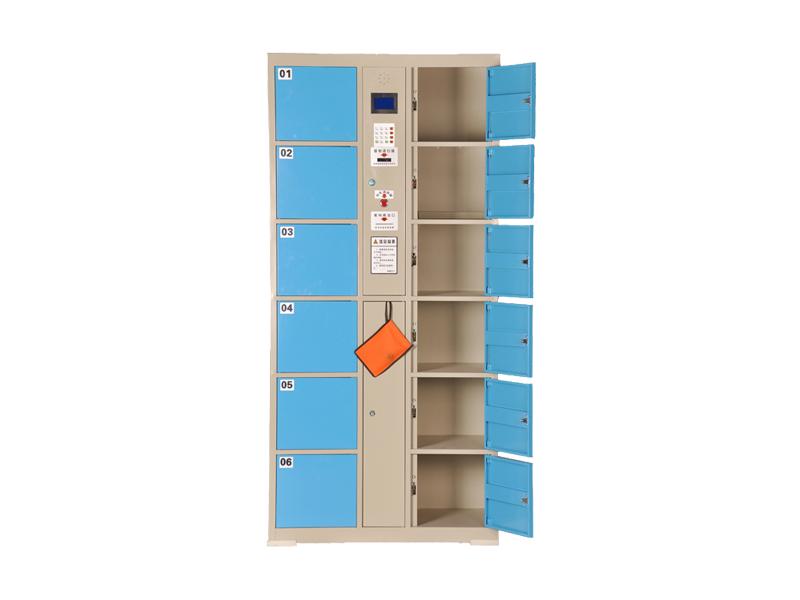 柳州电子存包柜供应商-广西花城办公家具提供专业的广西电子存包柜