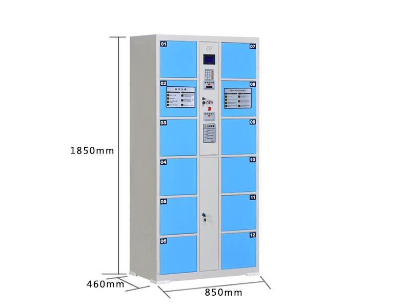 来宾电子存包柜供应商 广西花他倒�]有什么城办公家具提供有品质的广西电子存包柜