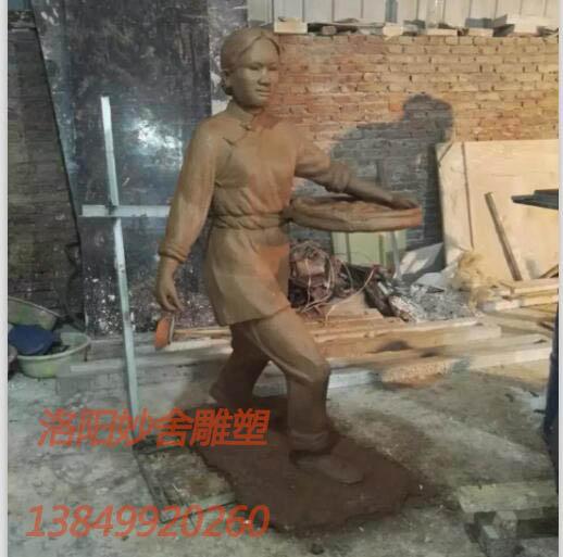 人物雕塑廠家-洛陽哪里買得到人物雕塑
