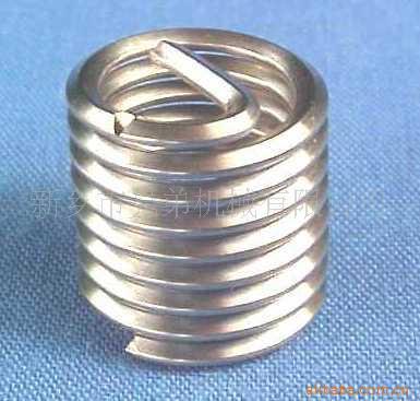供应河南价格便宜的薄壁型钢丝螺套_普通钢丝螺套生产厂家