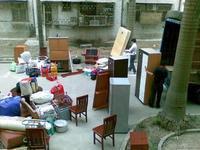 上海虹口区申通快递大件桌子椅子 行李包箱子上门打包取货寄
