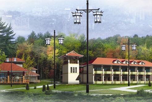 广西公园路灯施工-来宾质量好的广西太阳能仿古灯哪里买