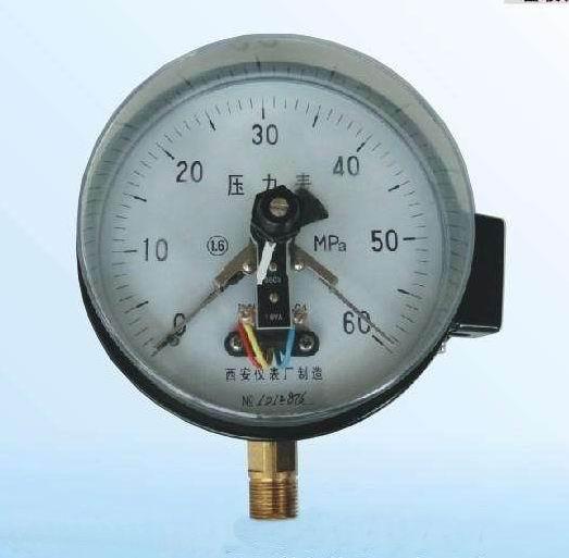 西安仪表质量好的电接点压力表_你的理想选择-咸阳电接点压力表采购