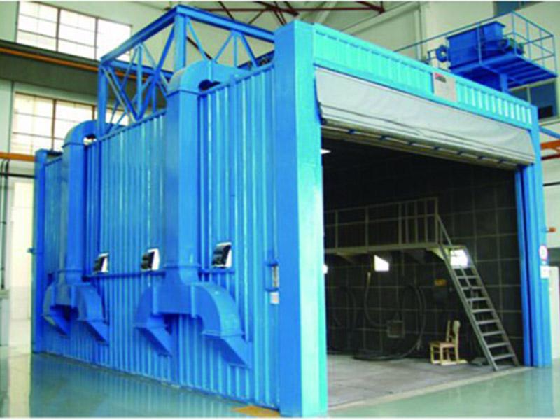 优惠的喷砂房盐城市杰出机械供应_气力回收式喷砂房型号
