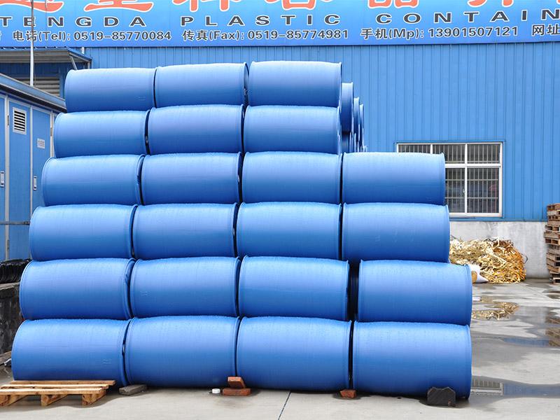 塑料桶低价出售-无锡哪里买新款200L塑料桶