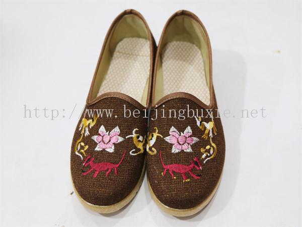 临沂哪里有供应价位合理的老北京布鞋——青海布鞋厂家直销
