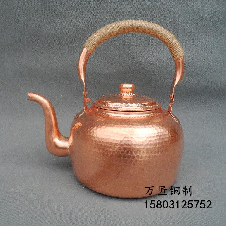 实力强的铜壶供应商,厂家批发手工铜壶