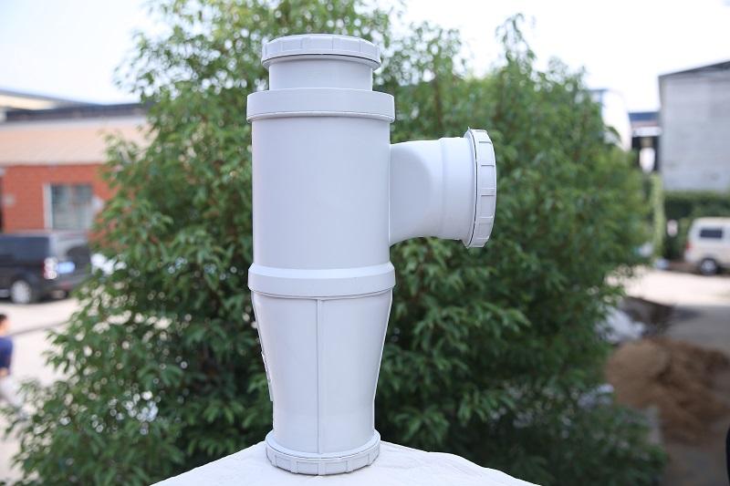 建通塑膠管業優良靜音排水管批發,中國靜音排水管及管件