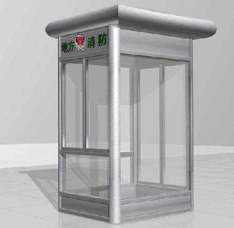 兰州玻璃岗亭图片-兰州哪里有卖销售热门的岗亭