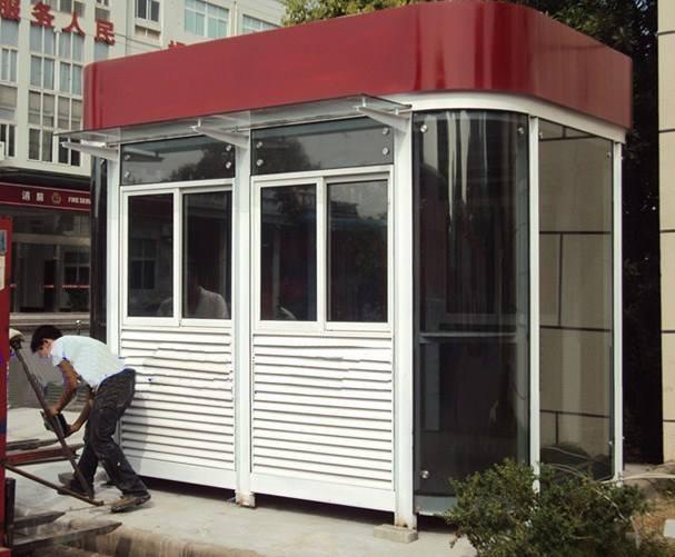 甘肃不锈钢岗亭-要买新的钢结构岗亭就来金鑫发岗亭