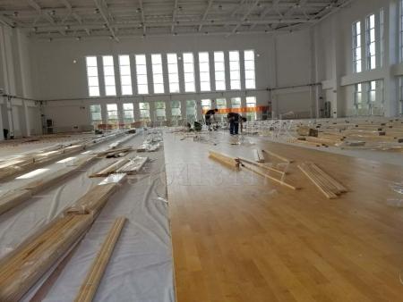 运动木地板施工_辽宁专业的运动地板