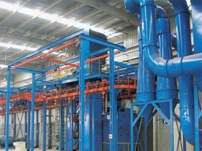 懸鏈式拋丸機廠家-滄州哪里有高質量的懸鏈式拋丸機