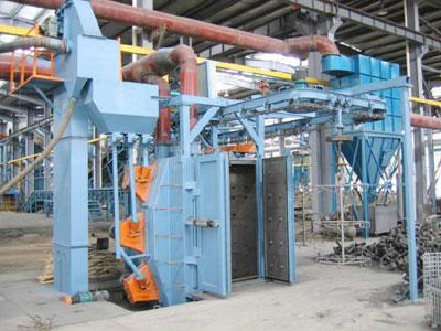 懸鏈式拋丸清理機價格-供應河北實惠的懸鏈式拋丸機