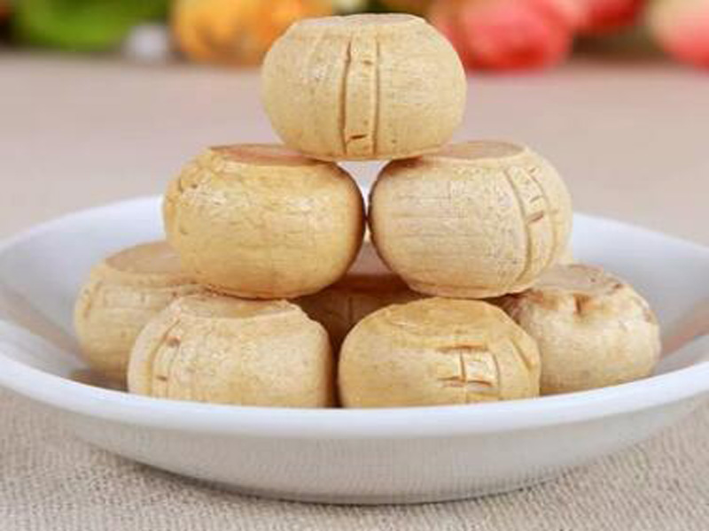 马大大芝麻姜汁糖阳都食品厂专业供应|冰糖和姜一起煮有什么功效