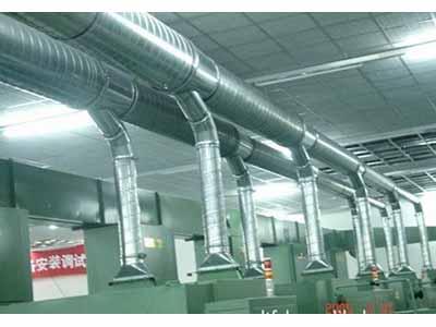 甘肃大河通风管道质量好的通风管道新品上市-兰州镀锌管道安装