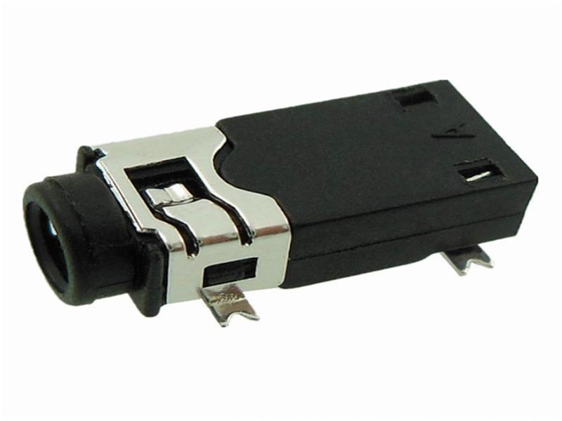 立体声贴片2.5耳机插座 大量供应性价比高的耳机插座