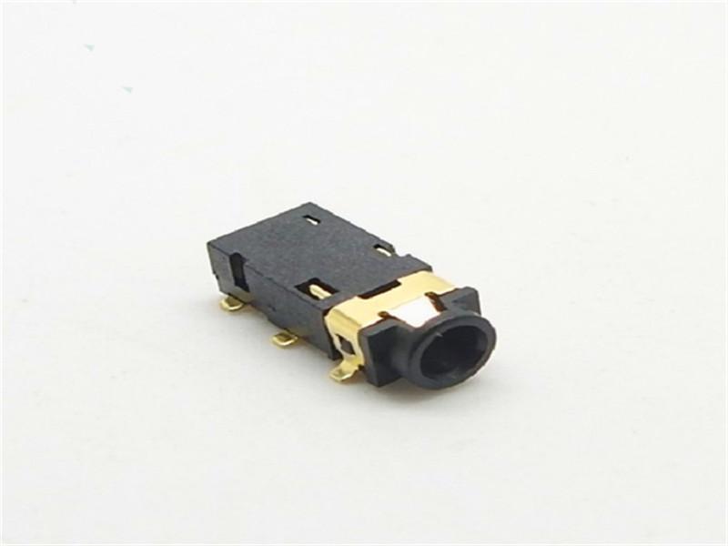 东莞好用的耳机插座品牌推荐-四节带开关贴片音频插座