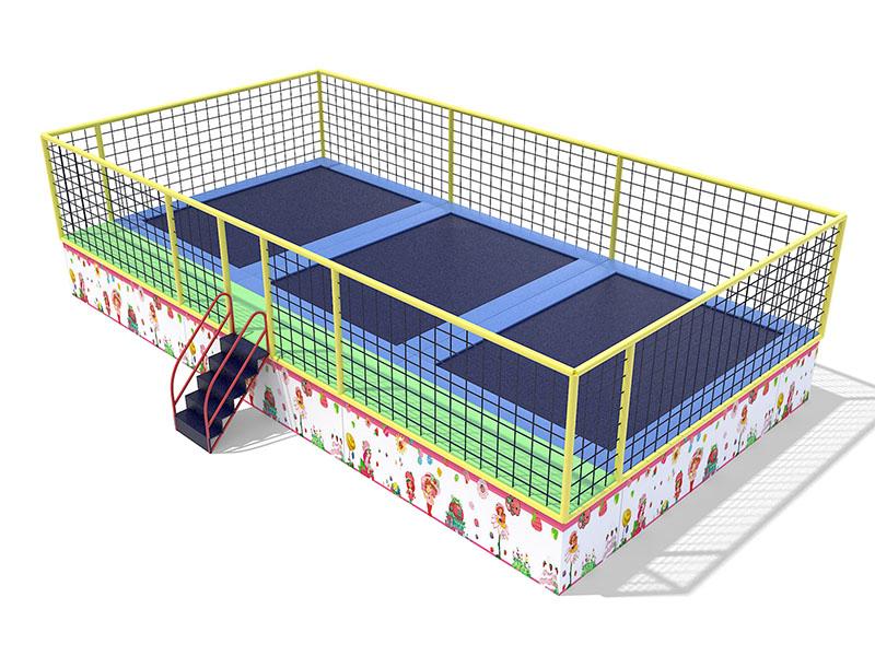 超级蹦床当选温州馨晨游乐设备――陕西超级蹦床