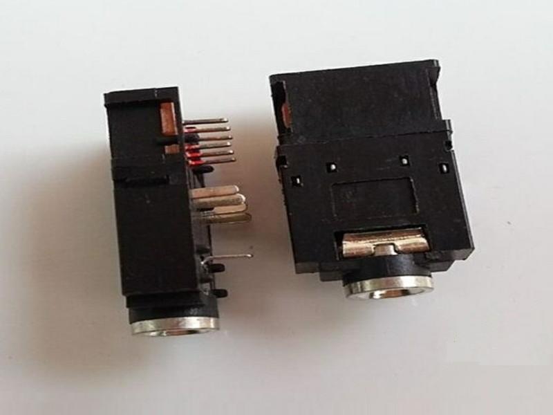 销量好的耳机插座价格行情 铜头双声道耳机插座