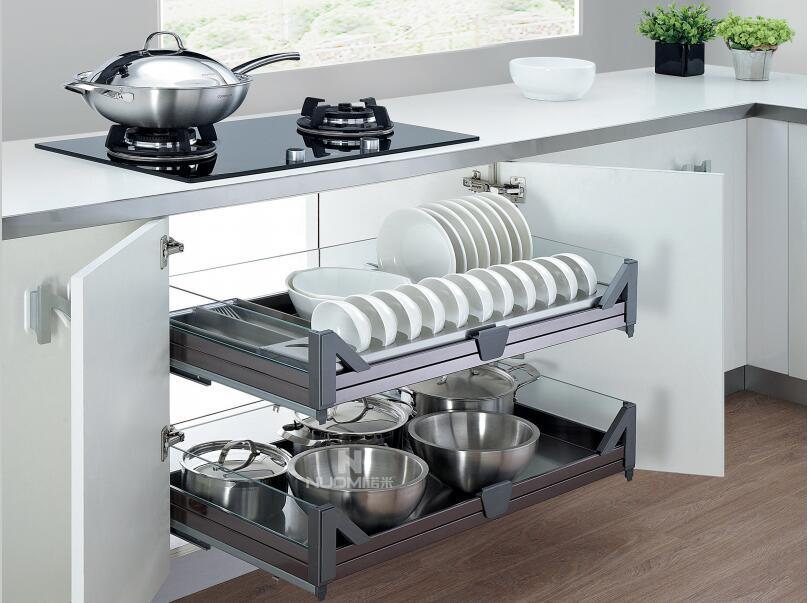 质量好的橱柜拉篮在哪可以买到_北海厨房橱柜五金