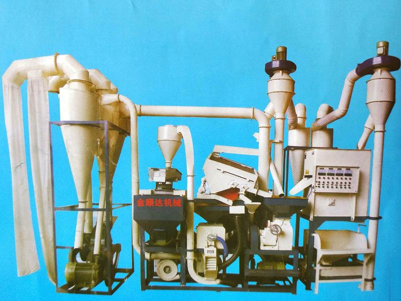 成套组合碾米机设备