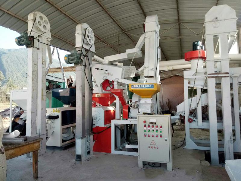 宁夏成套组合碾米机_超好用的成套组合碾米机金顺达机械厂供应