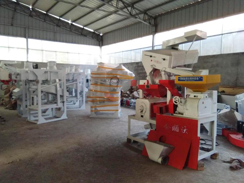 临沂价位合理的成套组合碾米机哪里买 湖南成套组合碾米机厂家