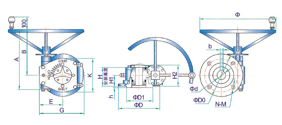 浙江实惠的WQT系列部分回转型阀门电动装置供应-温州回转型阀门电动装置批发