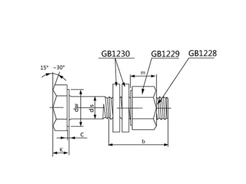 选购质量好的大六角螺栓就选徐州汇力高强标准件-苏州大六角螺栓