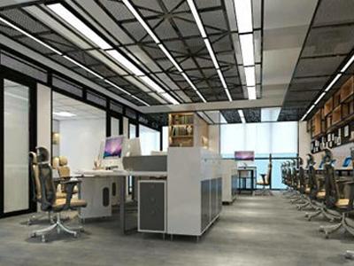 广州办公室装修设计多少钱-办公室装潢-欧飞装饰工程有限公司实力可靠