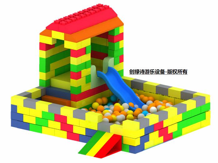 浙江创绿诗游乐设备专业提供epp积木儿童乐园加盟——