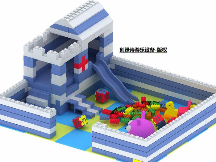 epp积木为什么这么贵-靠谱的epp积木城堡加盟优选浙江创绿诗游乐设备