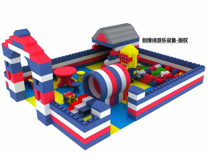 选epp积木城堡加盟找浙江创绿诗游乐设备,新型儿童游乐项目epp积木城堡怎么样