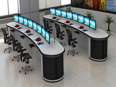 监控指挥台生产厂家|新式的监控台锦锐机械设备