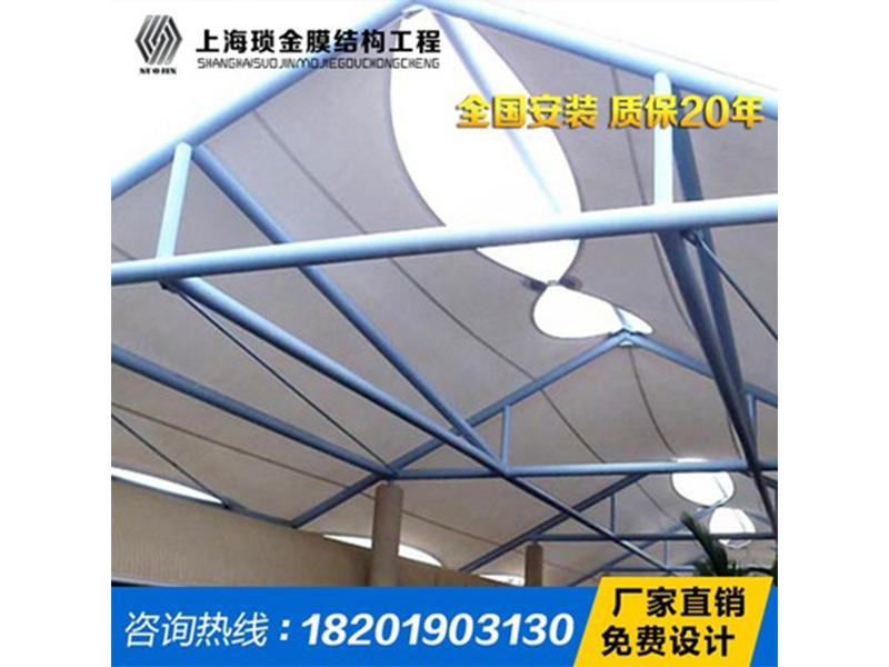 商业设施膜结构专业制造厂家|上海商业设施遮阳棚