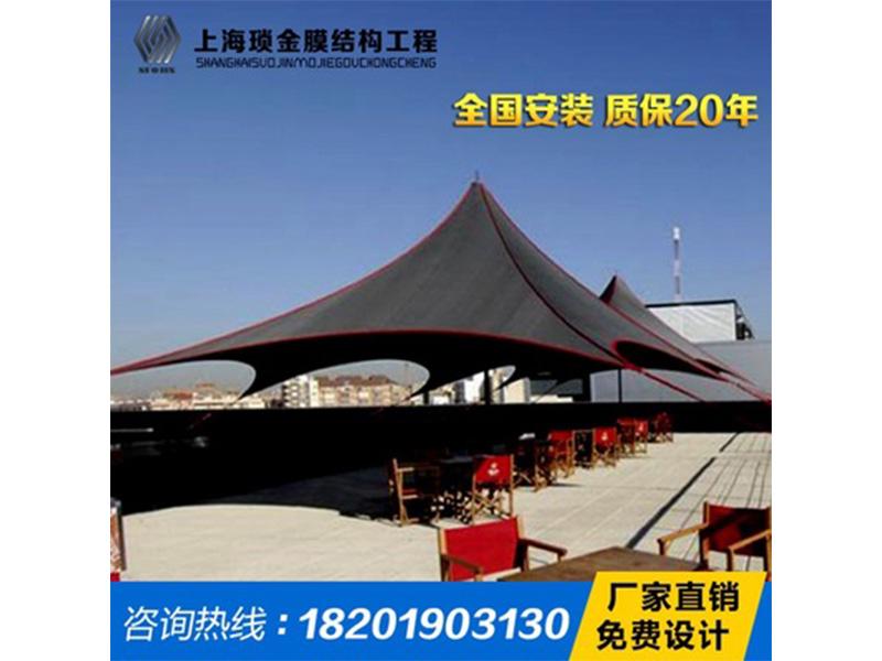 商业设施膜结构公司哪家好-广东商业设施遮阳棚型号