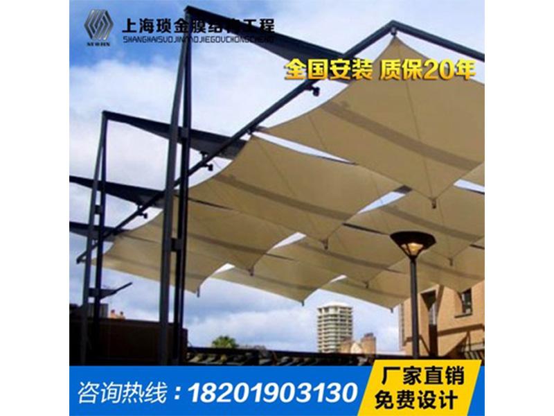 商业设施膜结构建造费用如何,广东商业设施遮阳棚品牌