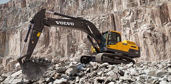 鄂尔多斯沃尔沃ec350d挖掘机选万通机械加工有限公司